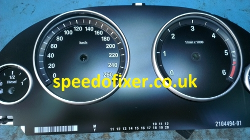 bmw kph mph speedometer dial conversion
