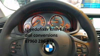 bmw x3 kmh to mph dial conversion oem conversion