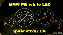 M5 white LEDs fitted to cluster