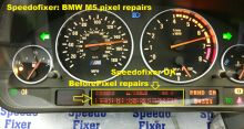BMW year 2000 M5 black version dial
