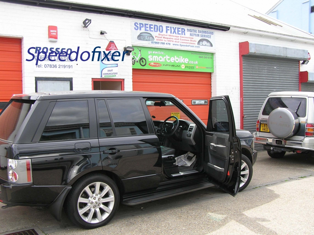 range rover dials mods upgrades leds pixel repairs